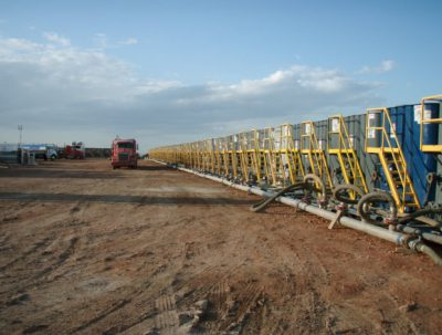 SandRidge Energy has agreed to shut down several wells used to dispose hydraulic fracturing wastewater, the Oklahoma Corporation Commission's Oil and Gas Conservation Division announced Wednesday.