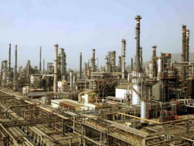 A refinery in India
