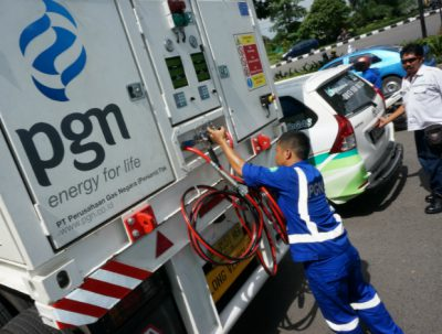 Indonesian state-owned gas entity Perusahaan Gas Negara (PGN)
