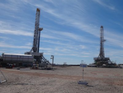 Argentina YPF gas rigs