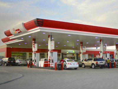 Saudi petrol station