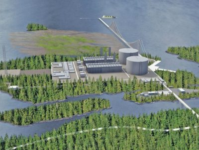 LNG project in Canada