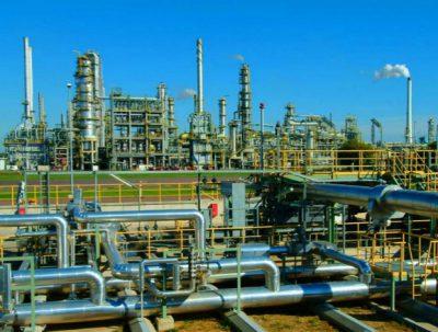 Kaduna refinery in Nigeria