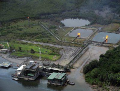 Oil installations in Nigeria