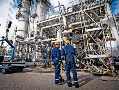 Gazprom plant
