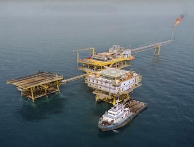 Offshore platform Iran