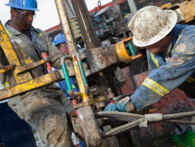 Ghana oil and gas workers