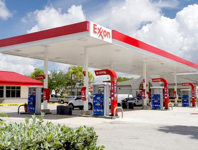 ExxonMobil petrol station
