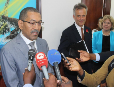 Angolan Minister of Mineral Resources and Petroleum Diamantino Azevedo