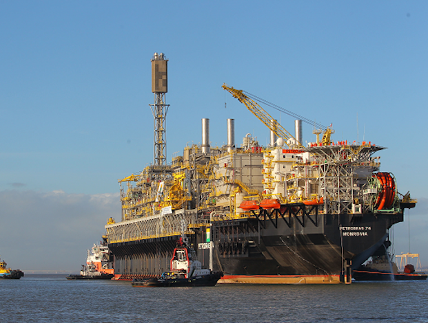 Petrobras brings P-76 FPSO on line in Brazil