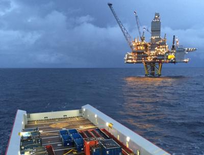 Rig offshore Brazil