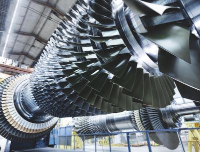 Gas turbine for power plant