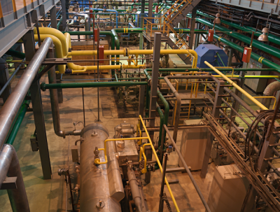 Midstream plant generic picture