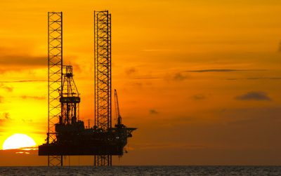 Sunset rig Middle East decommissioning