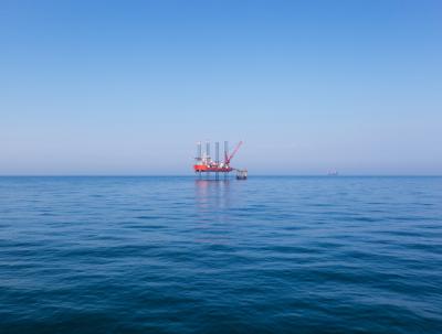 Mozambique offshore rig