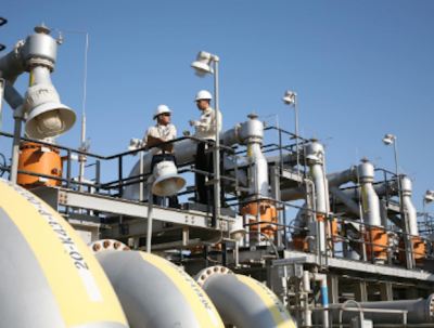Saudi Aramco gas plant project