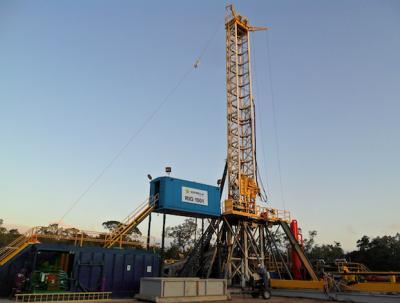 Drilling rig Argentina