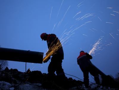 Pipeline grinding