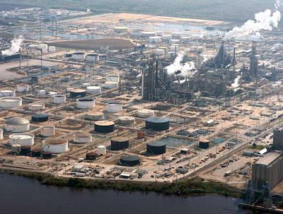 Beaumont Refinery Texas
