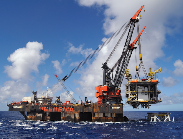 Offshore services contracts awarded in Brazil