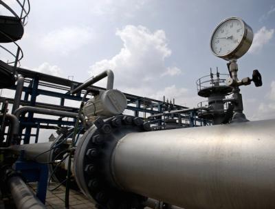 Gas pipeline gauge
