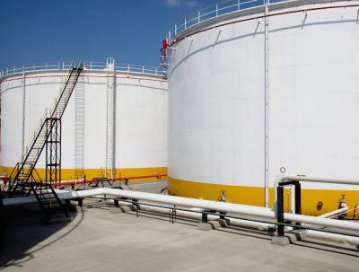 Pumangol fuel storage