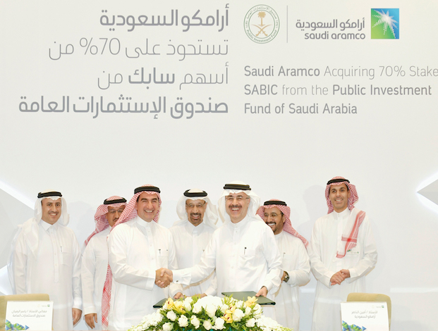 Saudi Aramco to buy SABIC for $69 bln