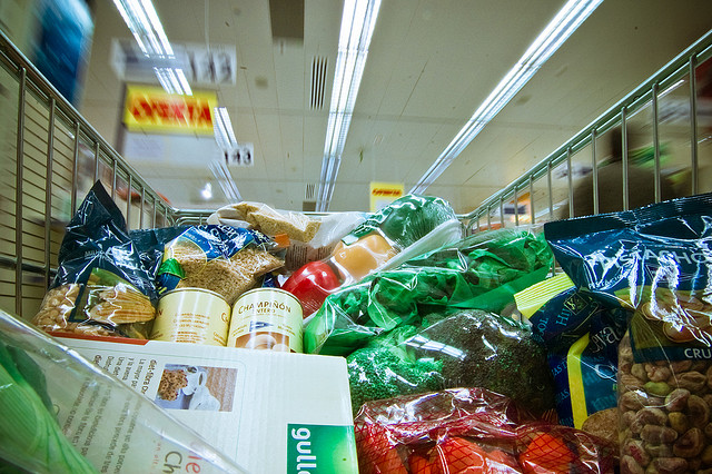 Ten ways to  save money in the supermarket