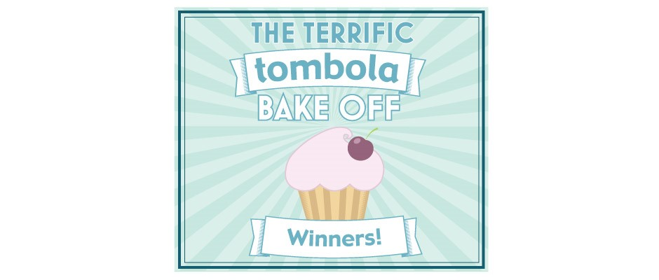 See who won our Terrific tombola Bake Off.