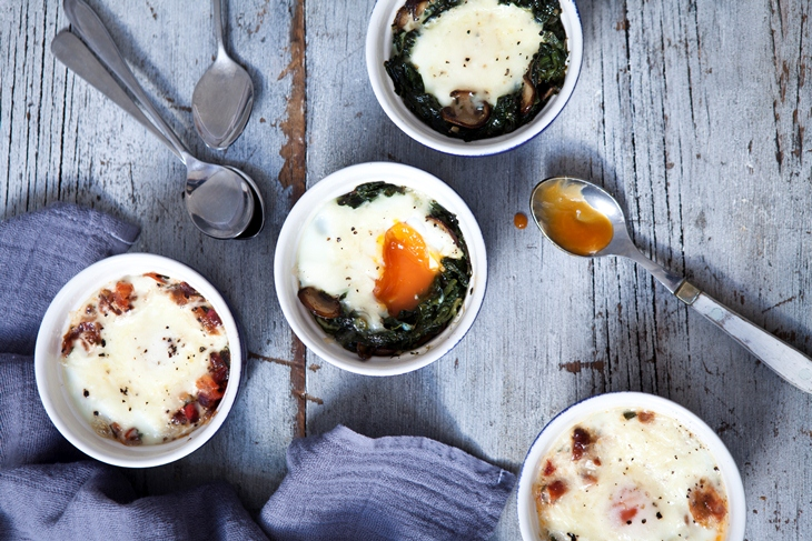 Baked Eggs Recipe by Hairy Bikers'