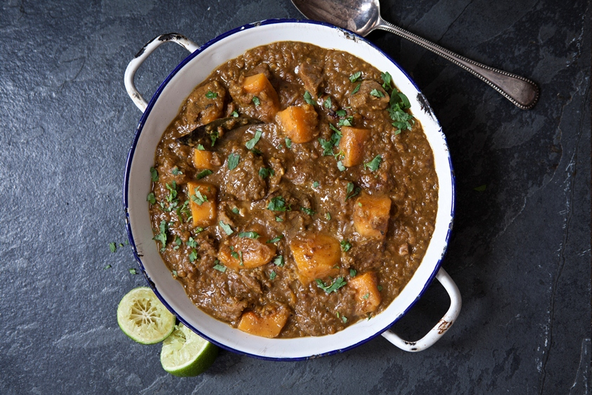 Lamb Dhansak Curry Recipe by Hairy Bikers'