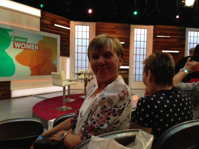 Winning Roomies see Loose Women LIVE!