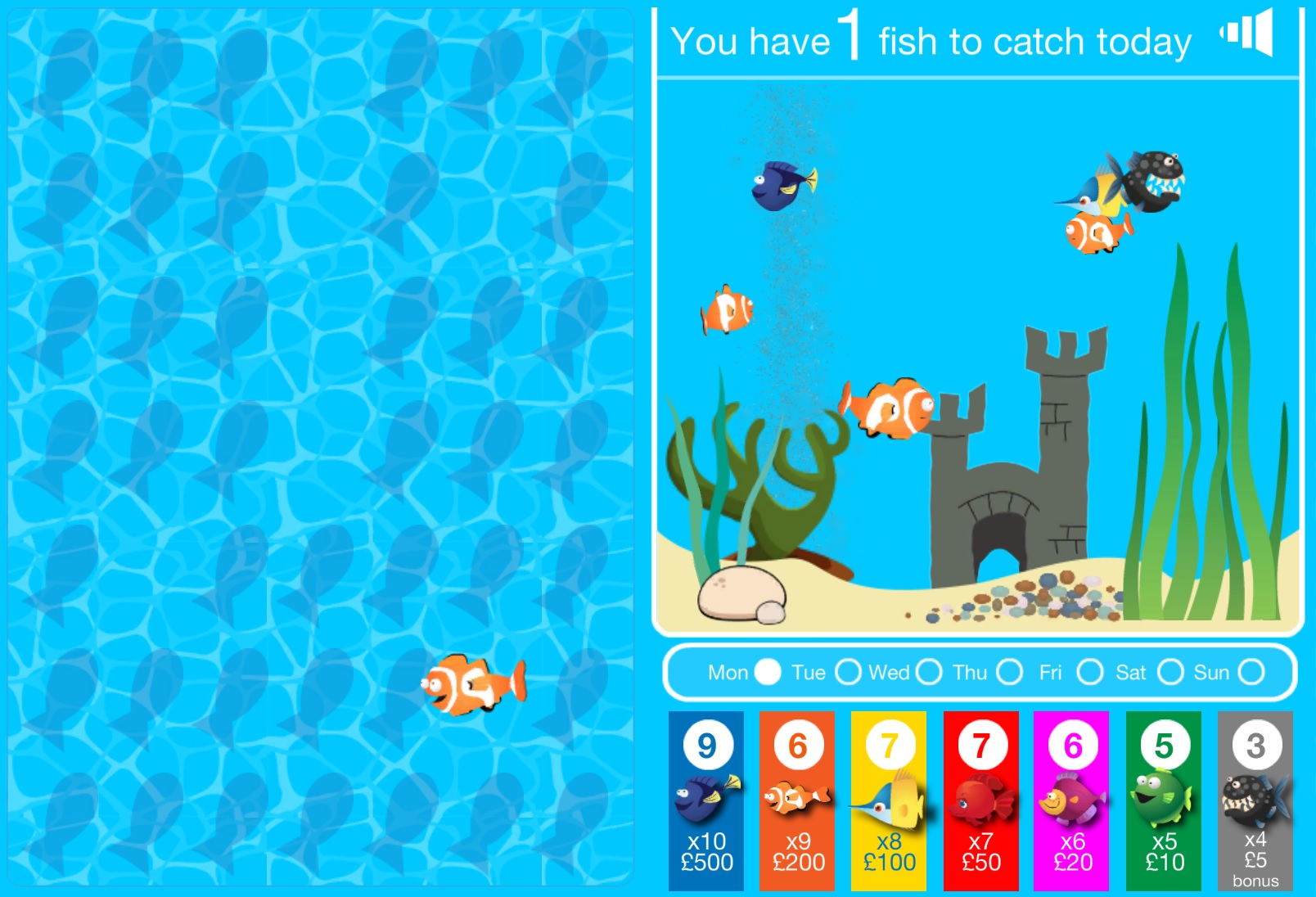 Go Fish - A free game from tombola