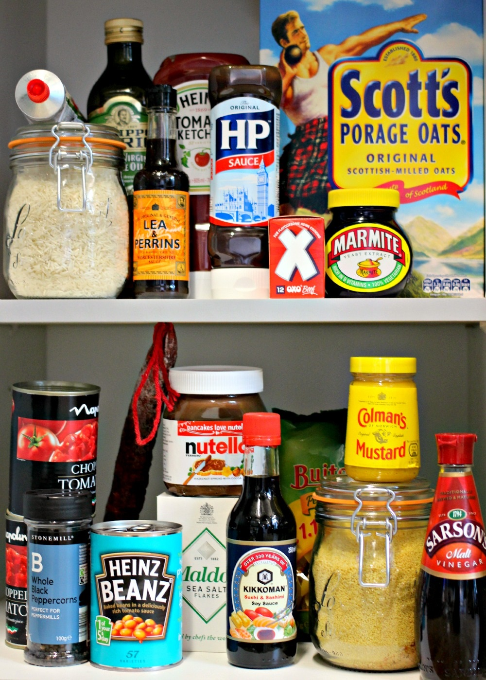 your 20 Store Cupboard Favourites
