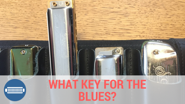 What key harmonica for the blues?