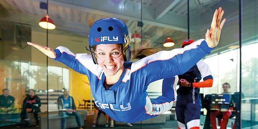 iFLY Indoor Skydiving Experience. Use RLOLLY15 to receive an EXCLUSIVE 15% discount from Red Letter Days