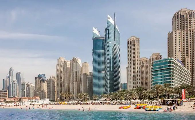 Dubai: 5 Star Half Board Jumeirah Beach Short Break w/Regional Flights & Kids Stay FREE
