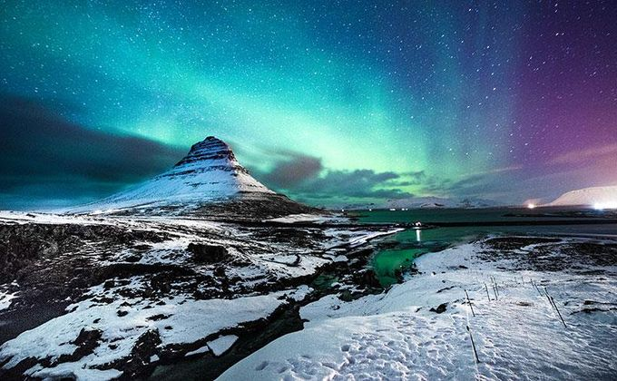 Reykjavik: Iceland City Break w/Flights, Breakfast & Northern Lights Tour