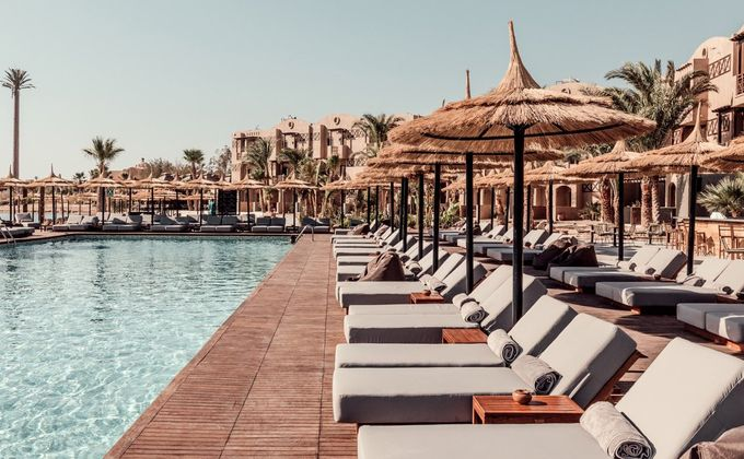 El Gouna: 'Adults Only' Half Board Holiday to Thomas Cook's Award Winning Hotel at the Red Sea