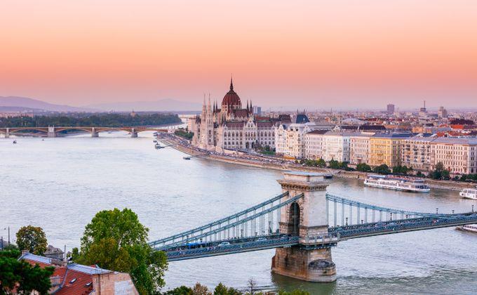 Budapest: 4 Star Award Winning City Break in Prime Location