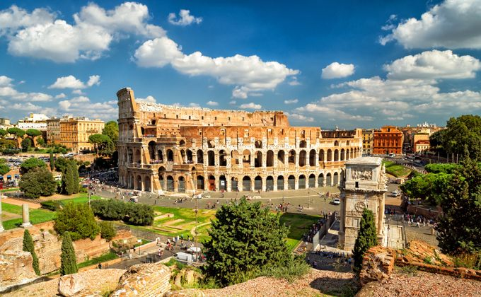 Rome: Italian City Break in Classic 19th Century Hotel Incl. Flights & River Cruise
