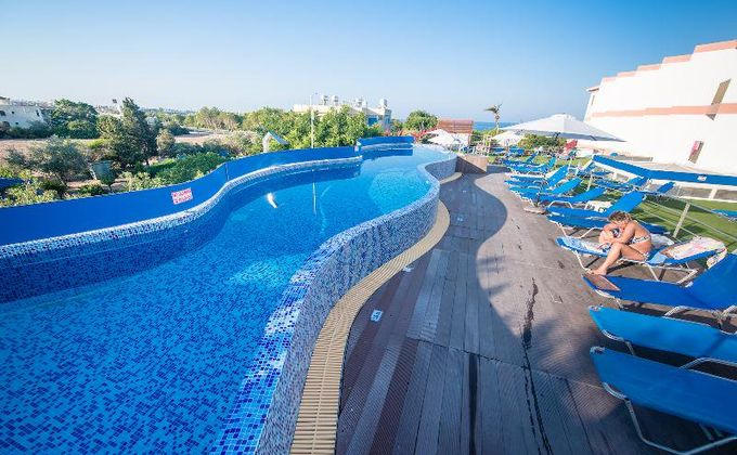Cyprus: 4 Star All Inclusive Beach Holiday to Paphos with Kids Stay FREE