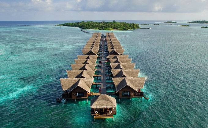 Maldives: 4 Star Award Winning All Inclusive Resort with Kids Stay FREE & Flights Incl.