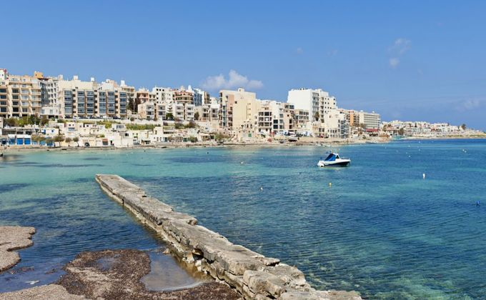 Malta: 4 Star Seafront All Inclusive Holiday in Qawra w/Kids Stay FREE