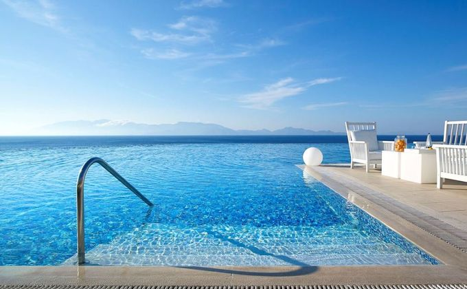 Kos: Award Wining 5 Star Luxury Hotel with Half Board, Infinity Pool, Spa & Flights
