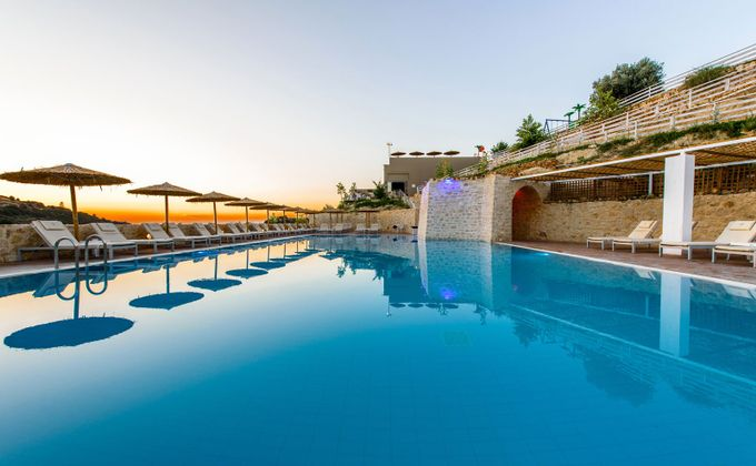 Crete: 5 Star All Inclusive Holiday with Spa, Private Beach & Kids Stay FREE