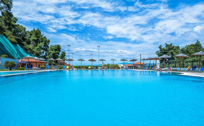Halkidiki: 4 Star All Inclusive Beach Break to Award Winning Hotel w/Kids Stay FREE