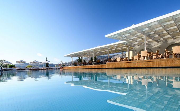 Rhodes: Luxury Half Board Holiday to 'Adults Only' Lindos Village Resort & Spa