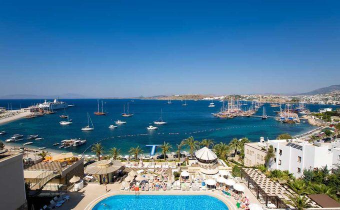 Turkey: 5 Star Luxury Beachfront All Inclusive Holiday to Bodrum w/Kids Stay FREE