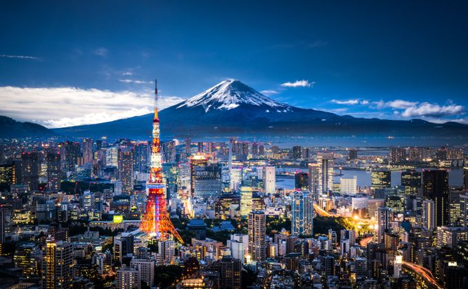 Cruise Japan, Korea & China w/Flights & Stays in Tokyo & Beijing. FREE Balcony Upgrade
